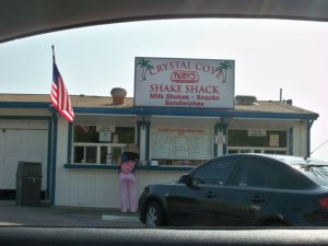 The Crystal Cove Shake Shack